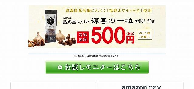 げんきの一粒 500円 お味見お試しキャンペーン プライムダイレクト